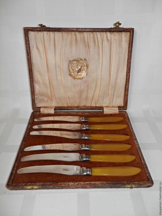 Винтажная посуда. Ярмарка Мастеров - ручная работа. Купить Набор антиварный Ножи в коробке Sheffield. Handmade. Ножи, шик