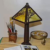 """Для дома и интерьера ручной работы. Ярмарка Мастеров - ручная работа Лампа настольная """"Ветер"""". Handmade."""