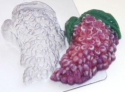 `Сирень` форма для мыла пластиковая