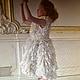 Одежда для девочек, ручной работы. Заказать Платье БЕЛЫЙ ЛЮПИН. Анастасия Курбатова (anastakurbatova). Ярмарка Мастеров. Нарядное платье, шёлк