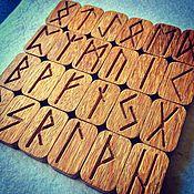 handmade. Livemaster - original item A set of Runes made from Oak. Handmade.
