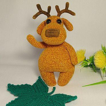 Куклы и игрушки ручной работы. Ярмарка Мастеров - ручная работа Игрушки: Олененок. Handmade.