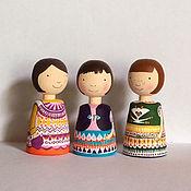 Куклы и игрушки ручной работы. Ярмарка Мастеров - ручная работа три сестрицы. Handmade.
