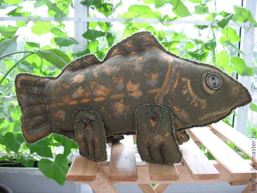Сказочные персонажи ручной работы. Ярмарка Мастеров - ручная работа. Купить Рыба кистеперая пятнистая. Handmade. Рыба