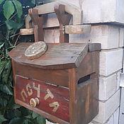 Ящики ручной работы. Ярмарка Мастеров - ручная работа Почтовый ящик в виде телефона. Handmade.