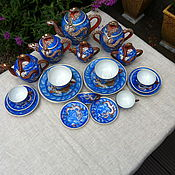 Винтаж handmade. Livemaster - original item Tea and coffee set,