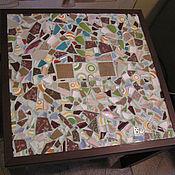 Для дома и интерьера ручной работы. Ярмарка Мастеров - ручная работа мозаичный стол. Handmade.