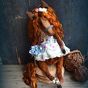 Куклы и игрушки ручной работы. Ярмарка Мастеров - ручная работа незабудковые поля.. Handmade.