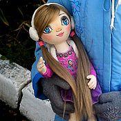Куклы и игрушки ручной работы. Ярмарка Мастеров - ручная работа Кэтрин. Игровая кукла. Интерьерная кукла. Текстильная кукла. Handmade.