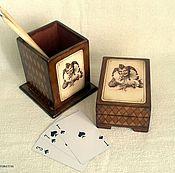 Для дома и интерьера ручной работы. Ярмарка Мастеров - ручная работа шкатулка Джокер. Handmade.