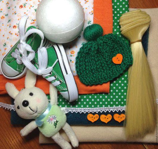 Шитье ручной работы. Ярмарка Мастеров - ручная работа. Купить Набор для шитья куклы с выкройками. Бесплатная доставка. Handmade.