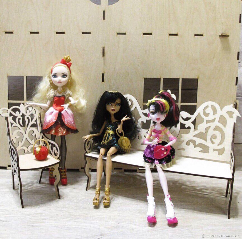 Furniture for dolls, Doll furniture, Orel,  Фото №1