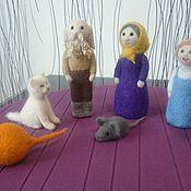 Куклы и игрушки handmade. Livemaster - original item Felted puppet theatre