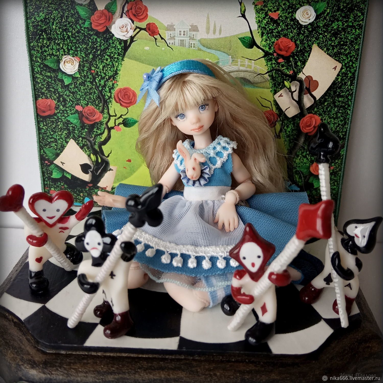 Алиса в Стране Чудес, Шарнирная кукла, Самара,  Фото №1