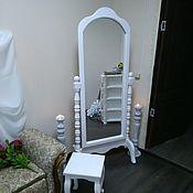 Зеркала ручной работы. Ярмарка Мастеров - ручная работа Зеркало напольное. Handmade.