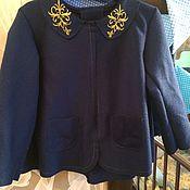Работы для детей, ручной работы. Ярмарка Мастеров - ручная работа Пальто для девочки. Handmade.
