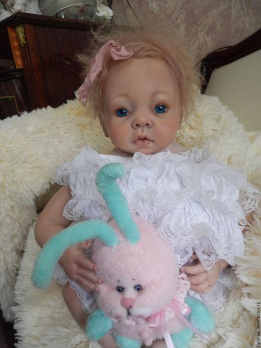 "Куклы-младенцы и reborn ручной работы. Ярмарка Мастеров - ручная работа. Купить Кукла ""Анютка"". Handmade. Розовый, кукла младенец"