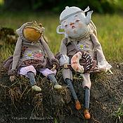 Куклы и игрушки ручной работы. Ярмарка Мастеров - ручная работа Безумное чаепитие. Handmade.