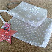 Сумки и аксессуары handmade. Livemaster - original item Linen bag, bag for gift. Handmade.