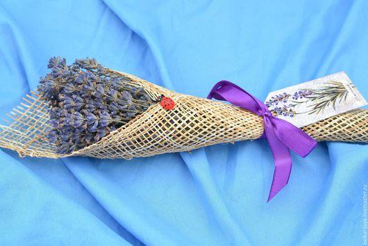 Букеты ручной работы. Ярмарка Мастеров - ручная работа. Купить мини букетик лаванды. Handmade. Лаванда, сухоцветы, подарок, лаванда