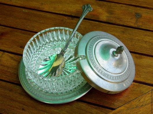 Винтажная посуда. Ярмарка Мастеров - ручная работа. Купить емкость для тертого сыра FORMAGGIERA. Handmade. Серебряный, оловянная посуда