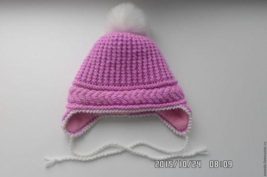 Шапки и шарфы ручной работы. Ярмарка Мастеров - ручная работа. Купить шапочка зимняя. Handmade. Разноцветный, шапочка вязаная