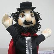 Куклы и игрушки handmade. Livemaster - original item zoo Director. Theatre glove puppet.. Handmade.