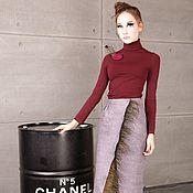 Одежда handmade. Livemaster - original item Felted skirt. Handmade.