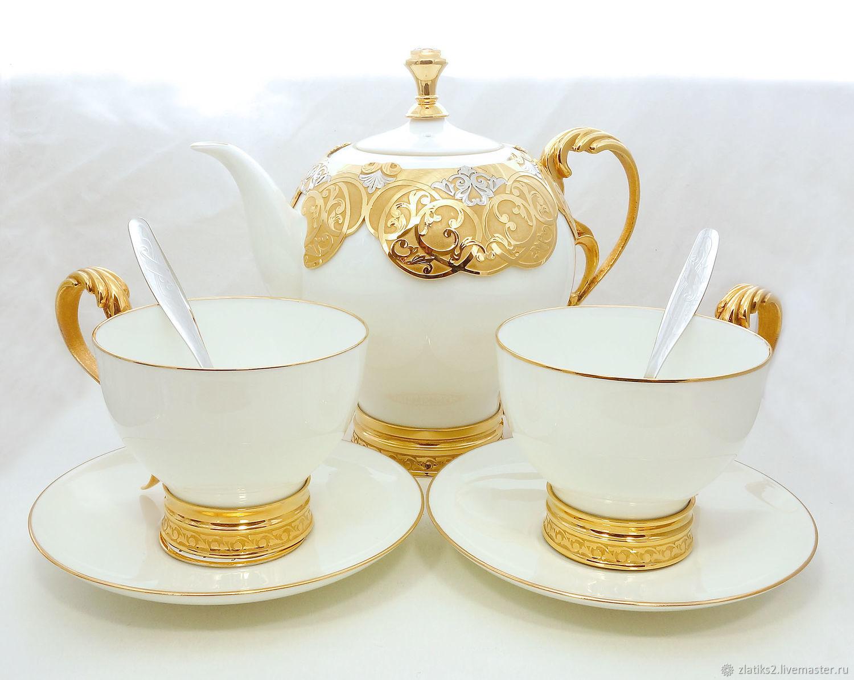 Эксклюзивная чайная пара z1902, Подарки, Златоуст,  Фото №1
