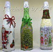 Сувениры и подарки ручной работы. Ярмарка Мастеров - ручная работа Подарочная бутылка. Handmade.