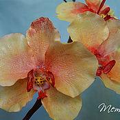 Цветы и флористика ручной работы. Ярмарка Мастеров - ручная работа Орхидея из холодного фарфора. Handmade.