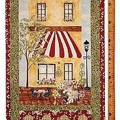 Материалы для творчества ручной работы. Ярмарка Мастеров - ручная работа Панно из ткани для пэчворка и шитья. Handmade.