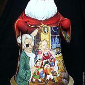 """Русский стиль ручной работы. Ярмарка Мастеров - ручная работа Дед Мороз. По мотивам сказки """"Щелкунчик"""". Handmade."""