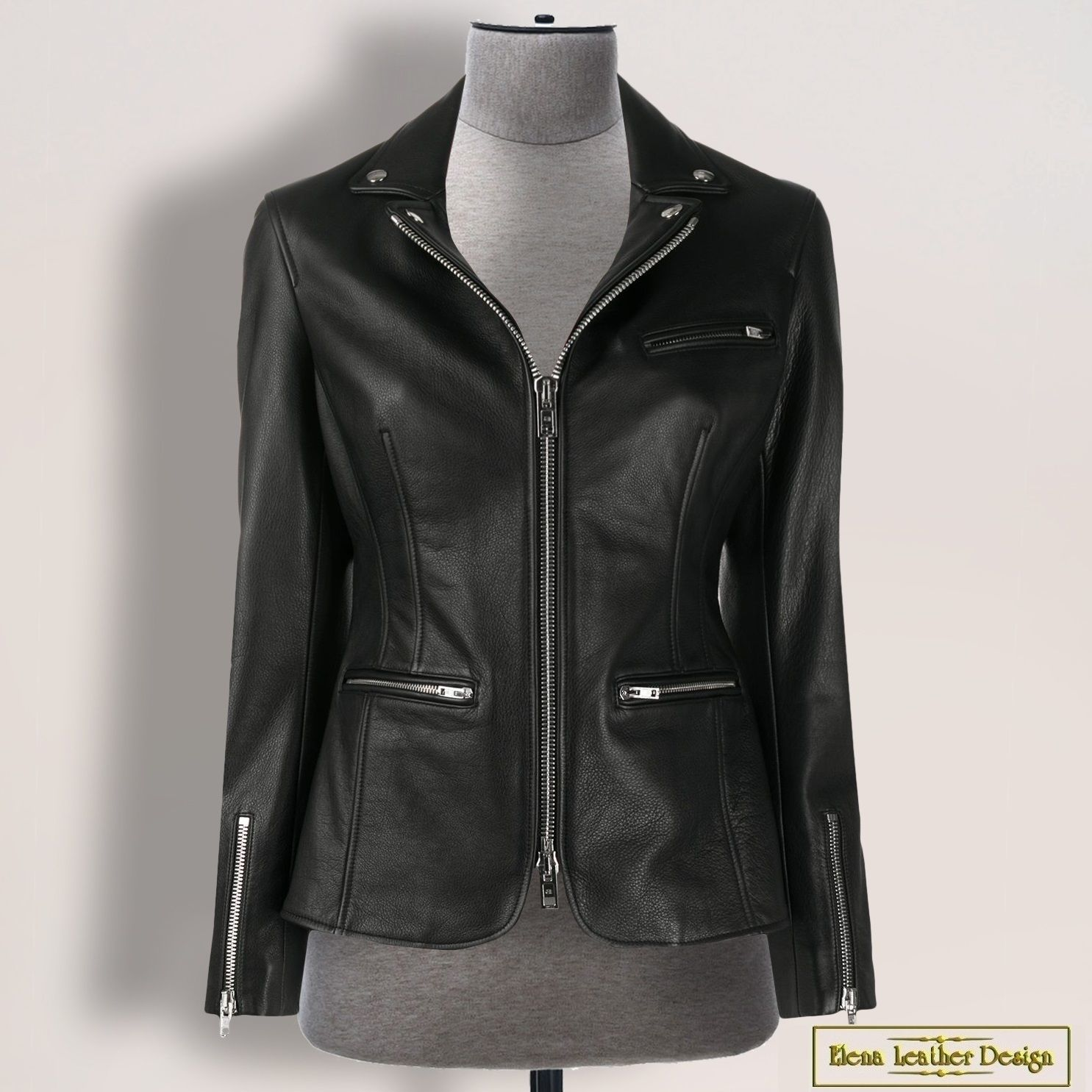 Jacket 'Kira' made of genuine leather/suede (any color), Outerwear Jackets, Rodniki,  Фото №1