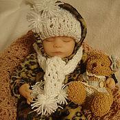 Куклы и игрушки ручной работы. Ярмарка Мастеров - ручная работа Леопардавая зима-комплект. Handmade.