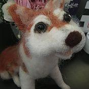 Куклы и игрушки handmade. Livemaster - original item Husky. Handmade.