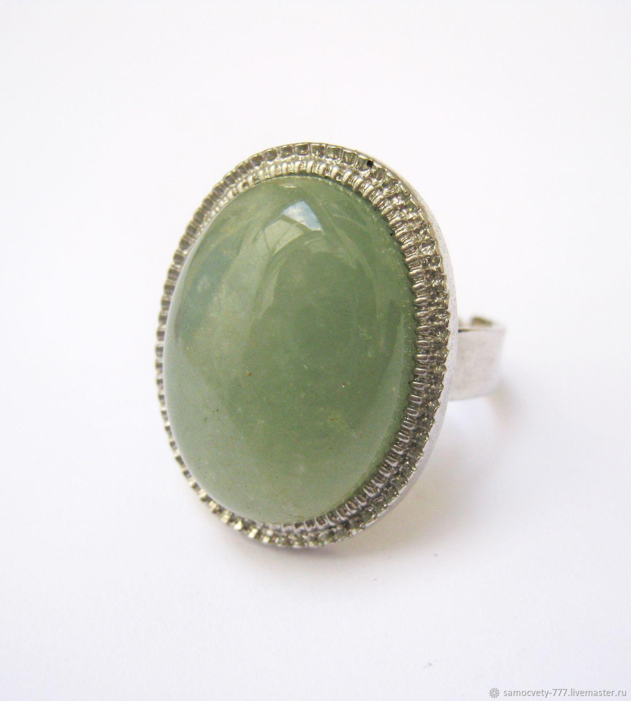"""Красивое кольцо""""Нефрит"""", Rings, Feodosia,  Фото №1"""