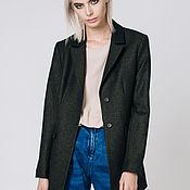 """Одежда handmade. Livemaster - original item Wool jacket """"Emerald"""". Handmade."""