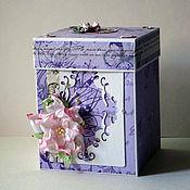 """Подарки к праздникам ручной работы. Ярмарка Мастеров - ручная работа Magic box """"Нежность"""". Handmade."""