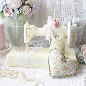 Для дома и интерьера ручной работы. Ярмарка Мастеров - ручная работа Швейная машинка в ретро стиле №7. Винтаж.. Handmade.