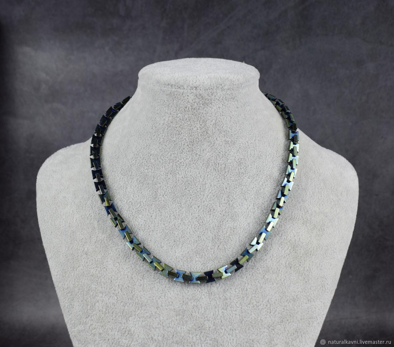 Beads / choker natural gemstone hematite, Beads2, Moscow,  Фото №1