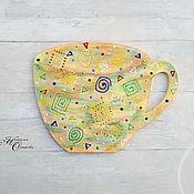 Сувениры и подарки ручной работы. Ярмарка Мастеров - ручная работа Магнит чашка. Handmade.