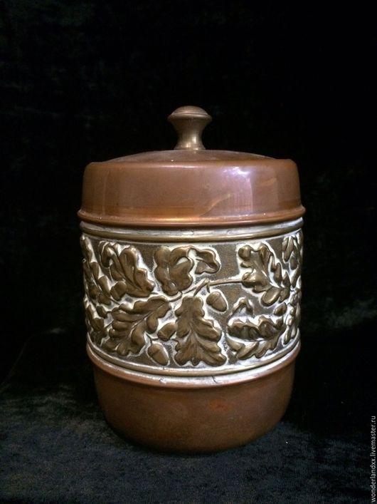 Винтажная посуда. Ярмарка Мастеров - ручная работа. Купить Медный бочонок с вкладышем, Англия. Handmade. Комбинированный, латунь