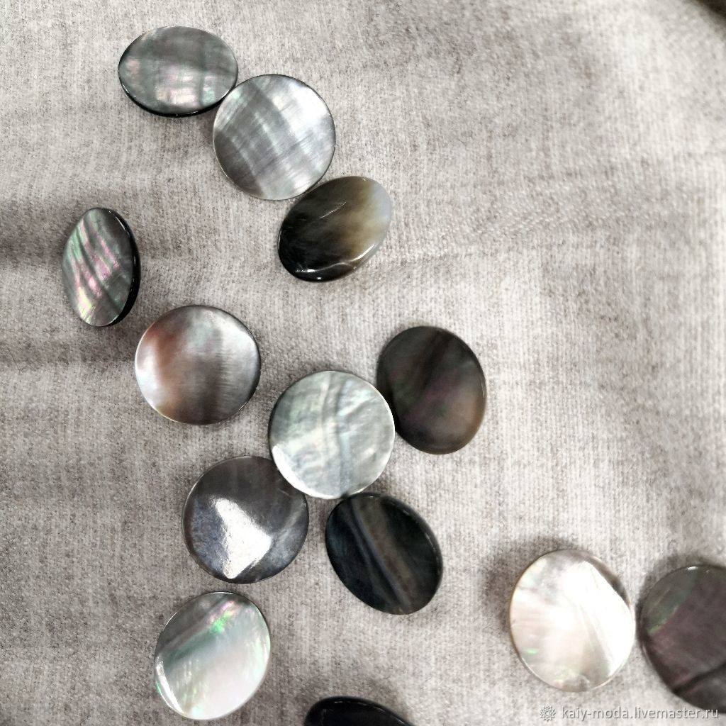 Pearl buttons on the leg, Buttons, Moscow,  Фото №1