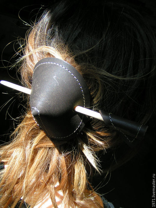 Заколки ручной работы. Ярмарка Мастеров - ручная работа. Купить заколки для волос. Handmade. Коричневый, летнее украшение, подарок подруге