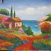 """Для дома и интерьера ручной работы. Ярмарка Мастеров - ручная работа Картина """"Море"""". Handmade."""