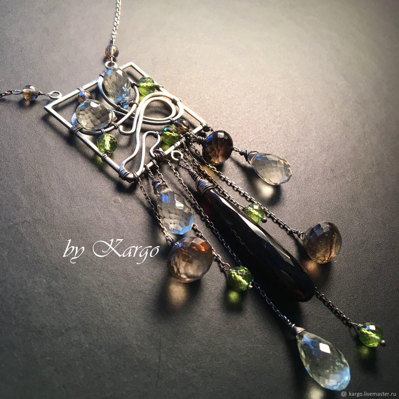 Necklace Werena (silver), Necklace, Moscow,  Фото №1