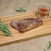Посуда handmade. Livemaster - original item Board for steak. Handmade.