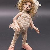 """Шарнирная кукла ручной работы. Ярмарка Мастеров - ручная работа Шарнирная кукла """"Лавиния"""". Handmade."""