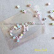 Материалы для творчества ручной работы. Ярмарка Мастеров - ручная работа Пакетики 9х10+3 см прозрачные с липким краем. Handmade.